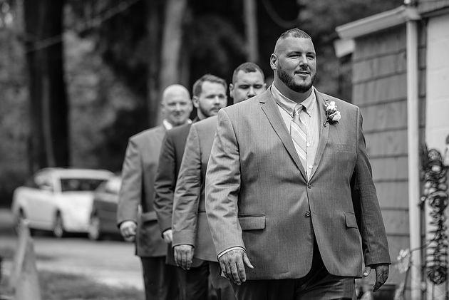 Groom and groomsmen Cleveland Wedding Planner