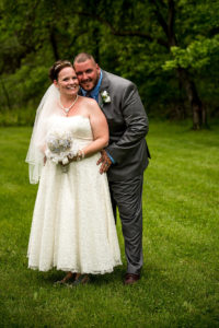 Bride and Groom clients of Cleveland Wedding Planner