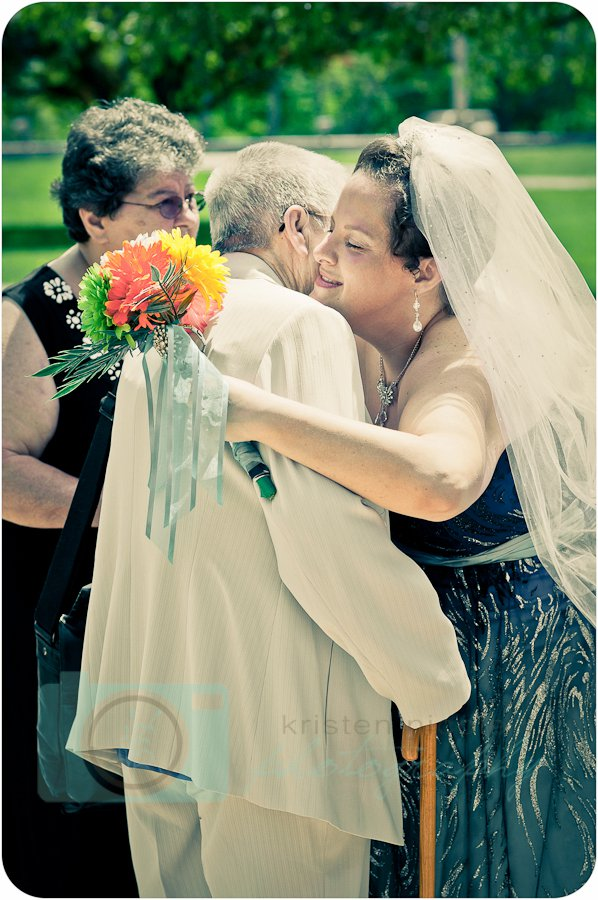 bride and grandma hugging eventistry