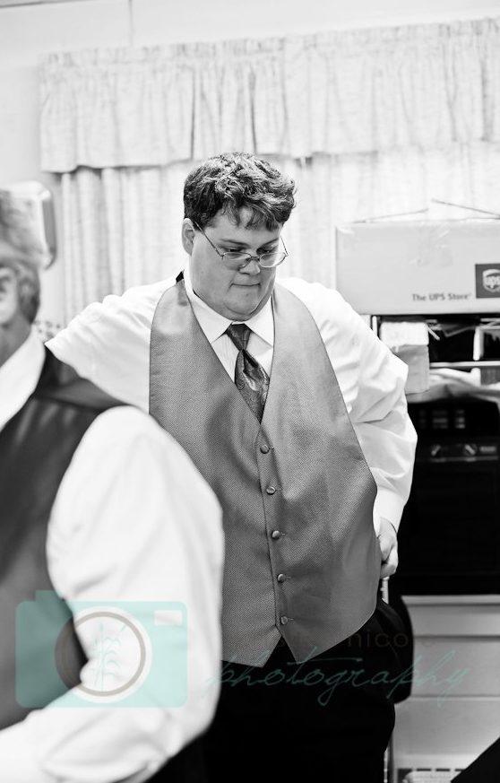 groom getting ready cleveland wedding planner