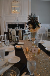 wedding reception tablescape eventistry