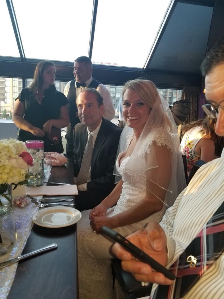 Cleveland Wedding Planner working a wedding