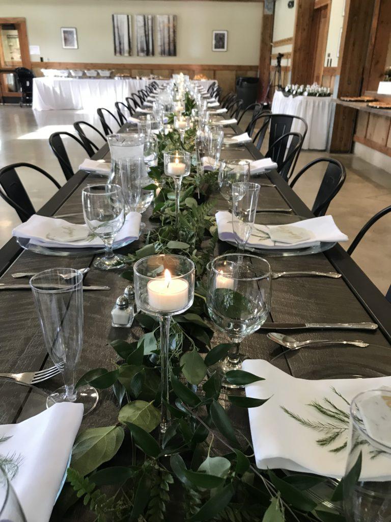 cleveland wedding planner tablescape