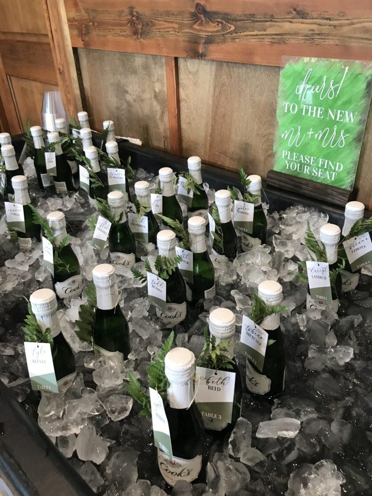 cleveland wedding planner champagne