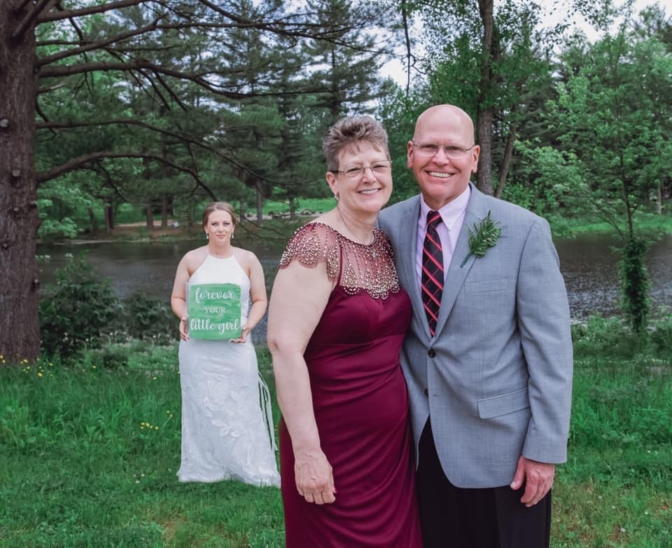 cleveland wedding planner bride and parents