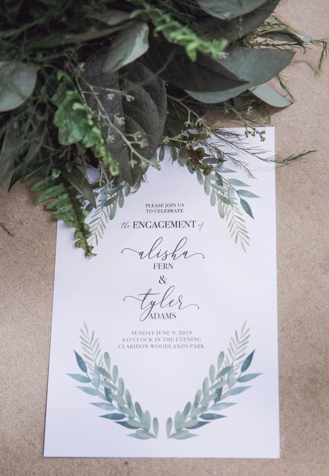 cleveland wedding planner wedding invitation