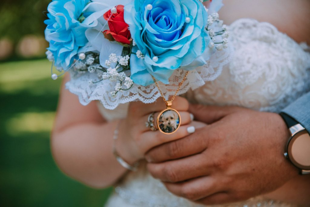 Cleveland wedding planner bridal bouquet