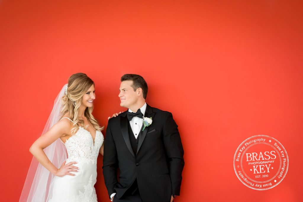 bride and groom Cleveland wedding planner
