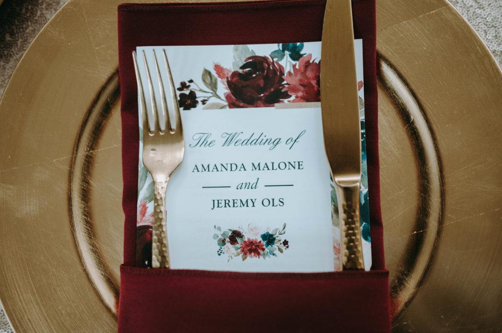 menu cleveland wedding planner
