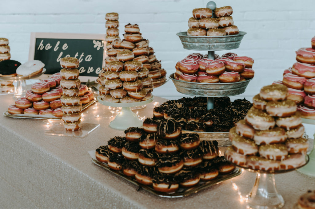donuts cleveland wedding planner