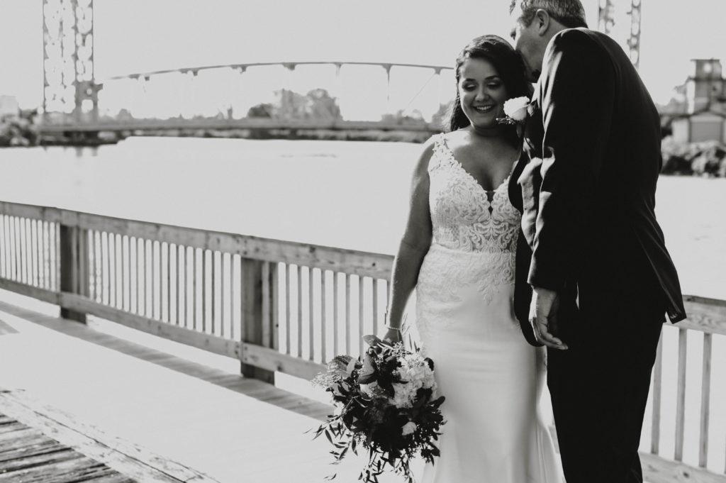 bride and groom cleveland wedding planner