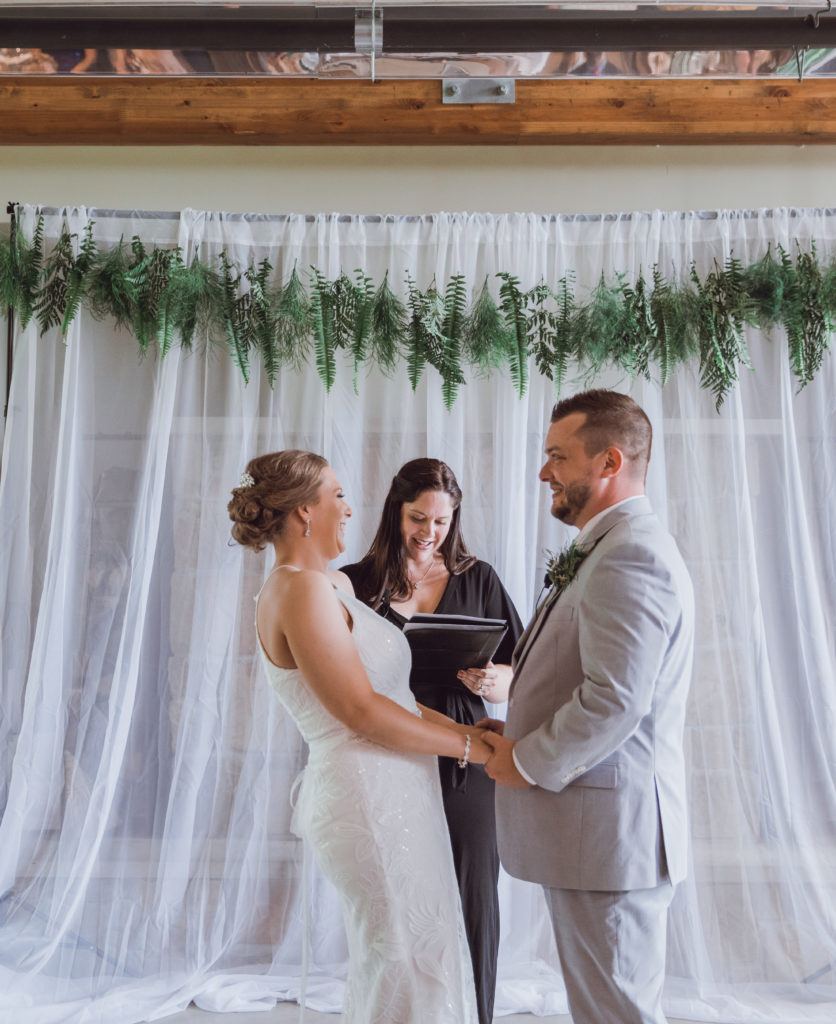 Cleveland wedding planner officiant