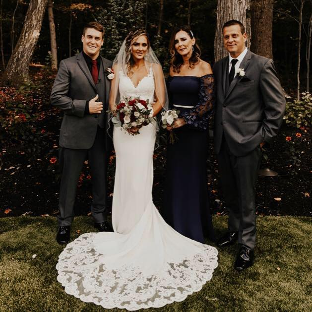 bride groom and family Cleveland wedding planner